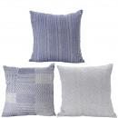 wholesale Cushions & Blankets: Pillows Varuna 3 motives, cover: 100% coton , fü